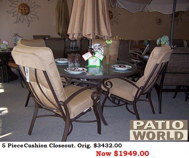 Outdoor Furniture 171 Patio World