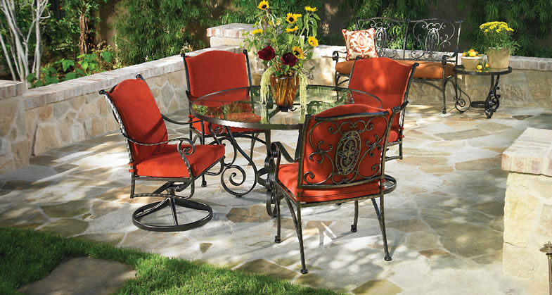 Delightful We At Patio World Offer This Furniture From The Finest Name Brand  Manufacturers In The Industry. As With All Our Furniture, You Can Customize  The Colors And ...