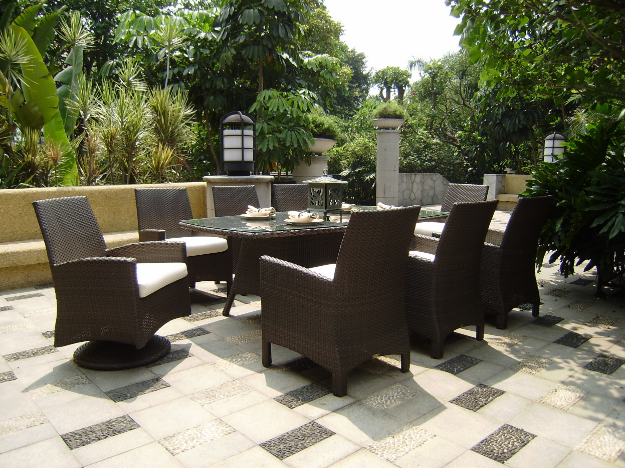 All weather wicker patio world for All weather outdoor furniture