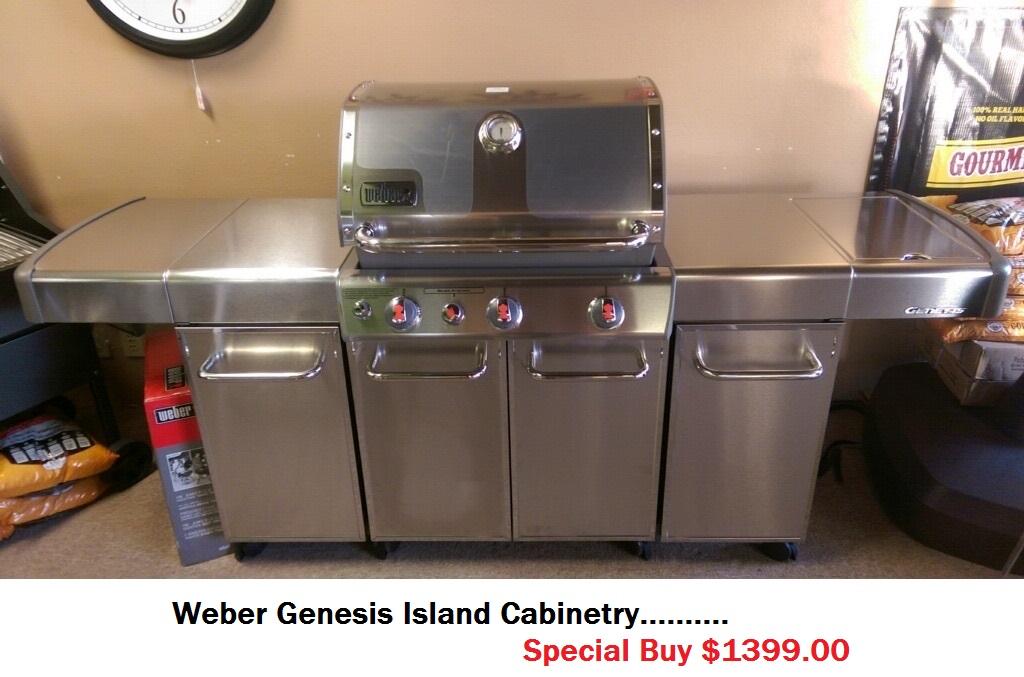 Weber Genesis Island Cabinetry Patio World