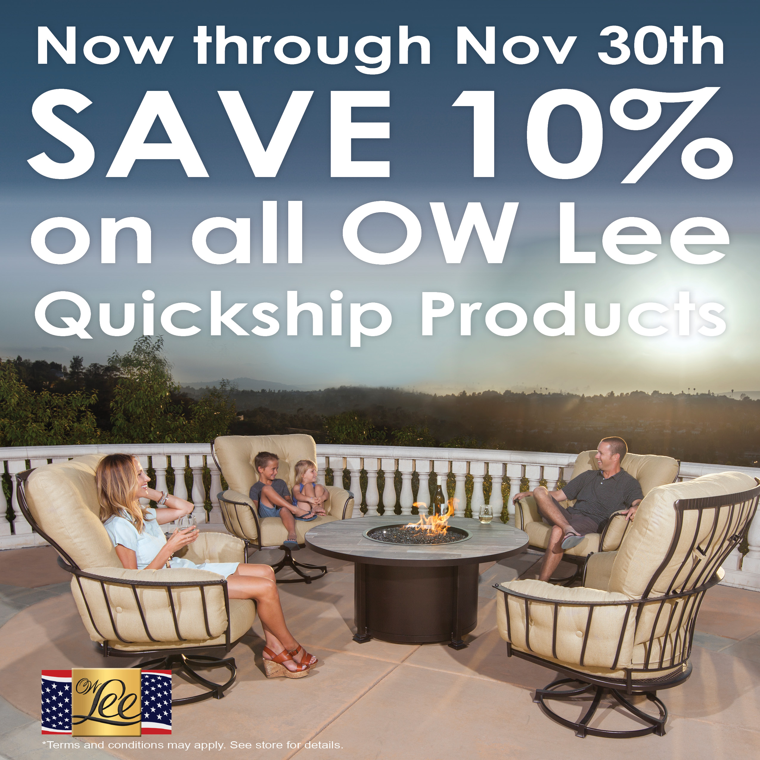Ow Lee November Factory Authorized Sale Patio World